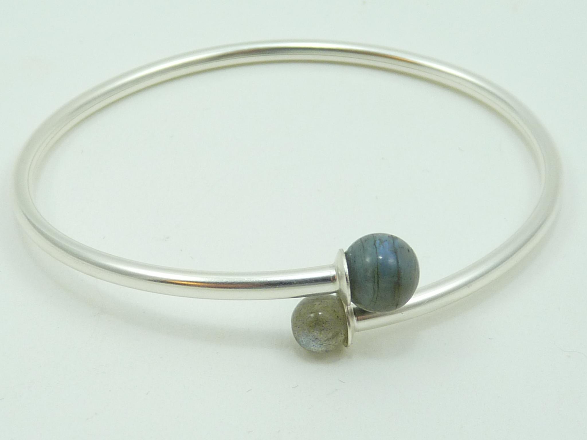 Labradorite - Bracelet rigide