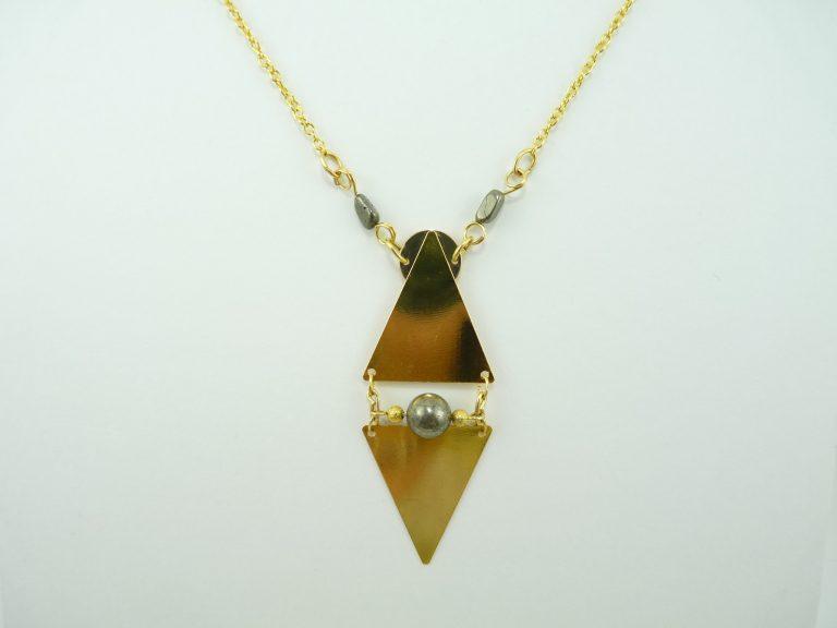 Pyrite - Sautoir