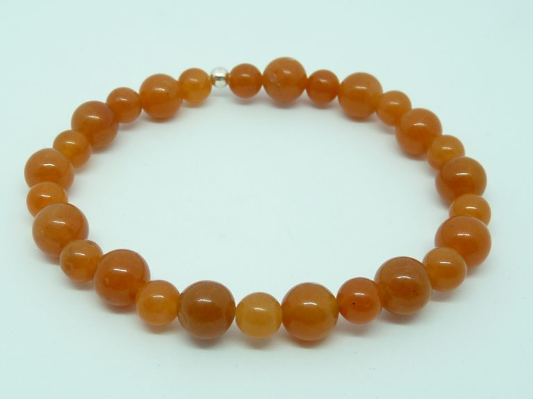 Aventurine orange (36€)