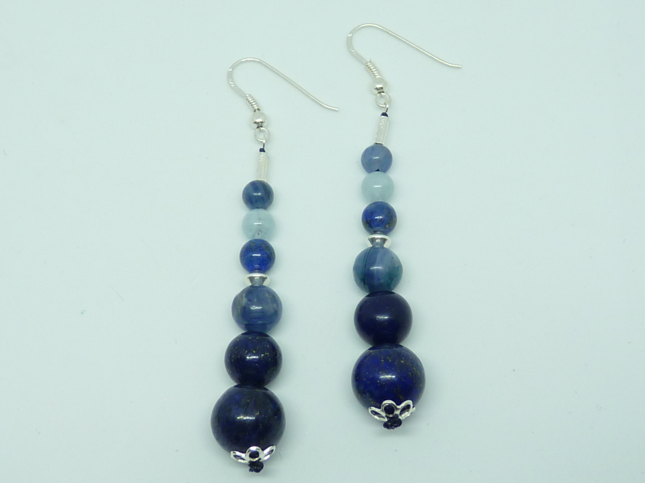 Lapis lazuli - Cyanite - Aigue marine (39€)