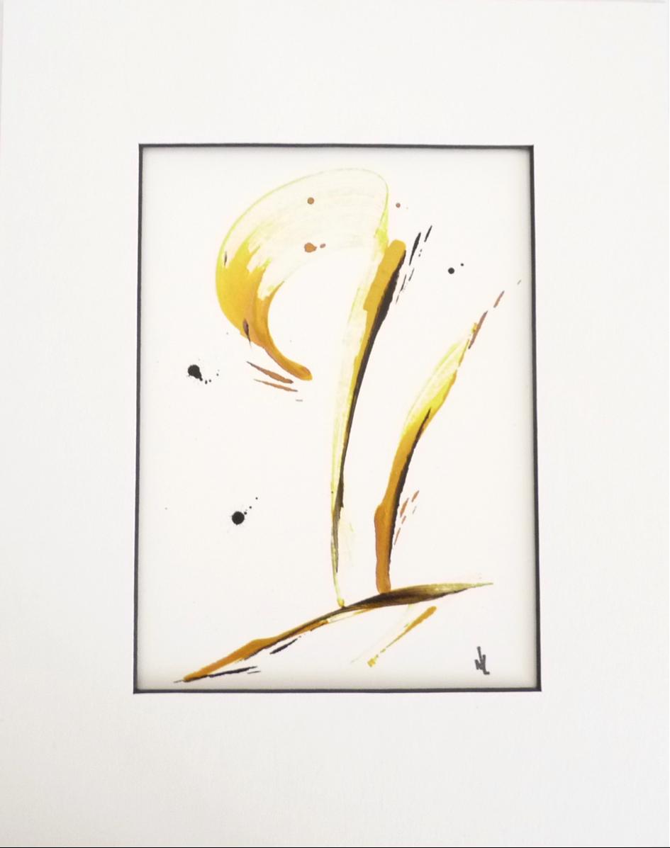 Peinture sur papier (PA-01)