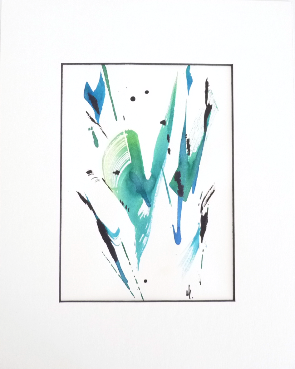 Peinture sur papier (PA-02)